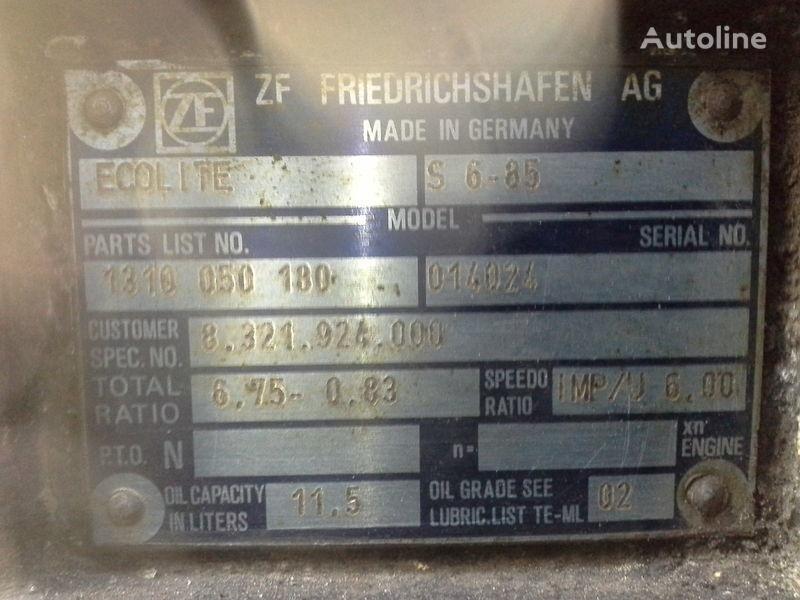 ZF S6-85 caja de cambio para MAN autobús