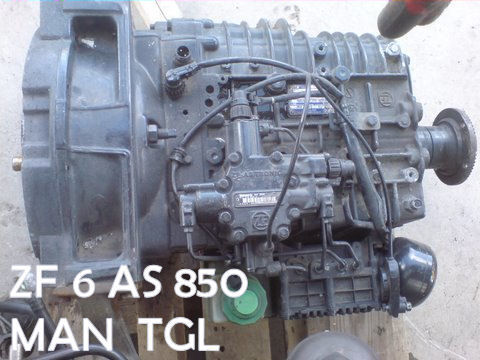 MAN caja de cambio para MAN SKRZYNI ZF 6 AS 850 MAN TGL 5000 zl tractora
