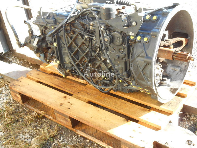 New Ecosplit MAN ZF16S2520 TO  Für MAN FZ übers. 13,80-0,84 Part List 1343 002 001 Customer Spec. NO.  81.32003-6676 caja de cambio para MAN Kipper-Mixer FZ SZM camión
