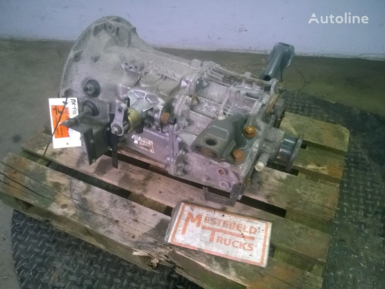 G-60-6 caja de cambio para MERCEDES-BENZ Versnellingsbak G-60-6 tractora