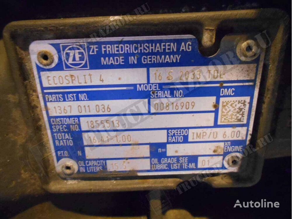 caja de cambios para DAF 16S 2033TDL tractora