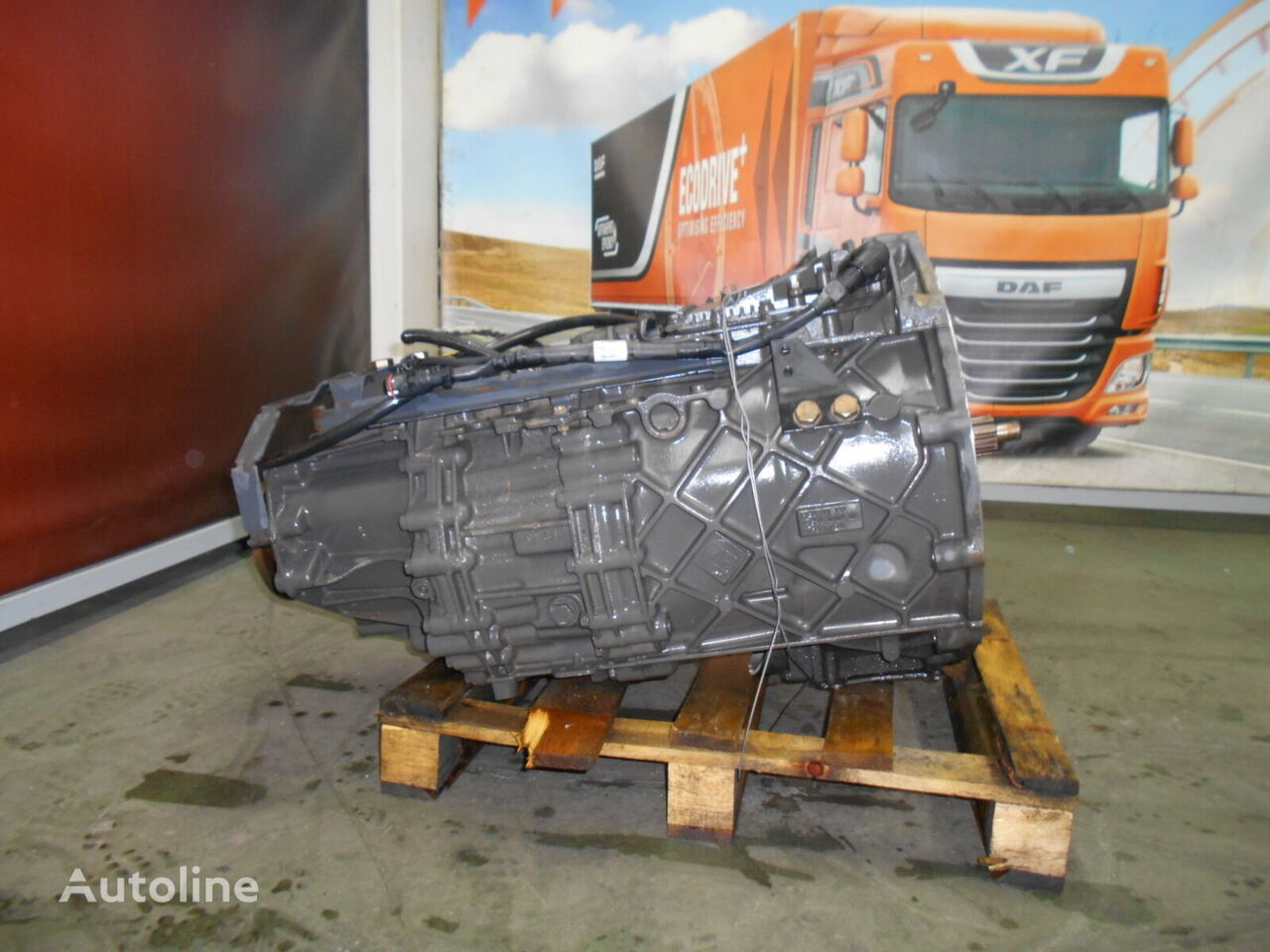 DAF 12AS2130TD caja de cambios para DAF XF 105 410/460 tractora