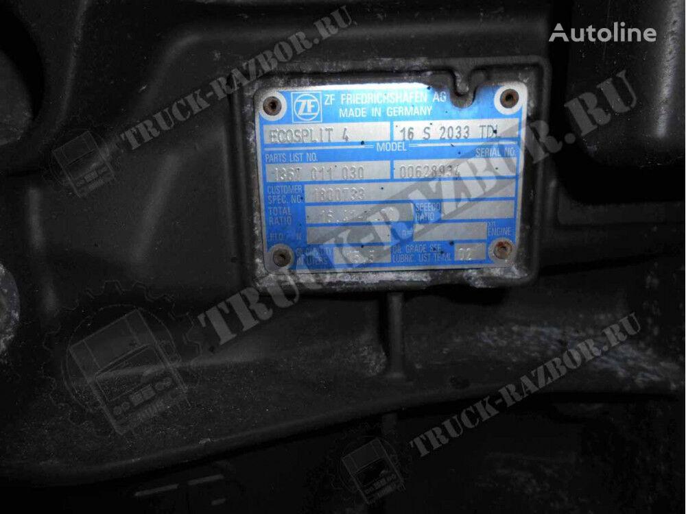 DAF 16S2033TDL caja de cambios para DAF tractora