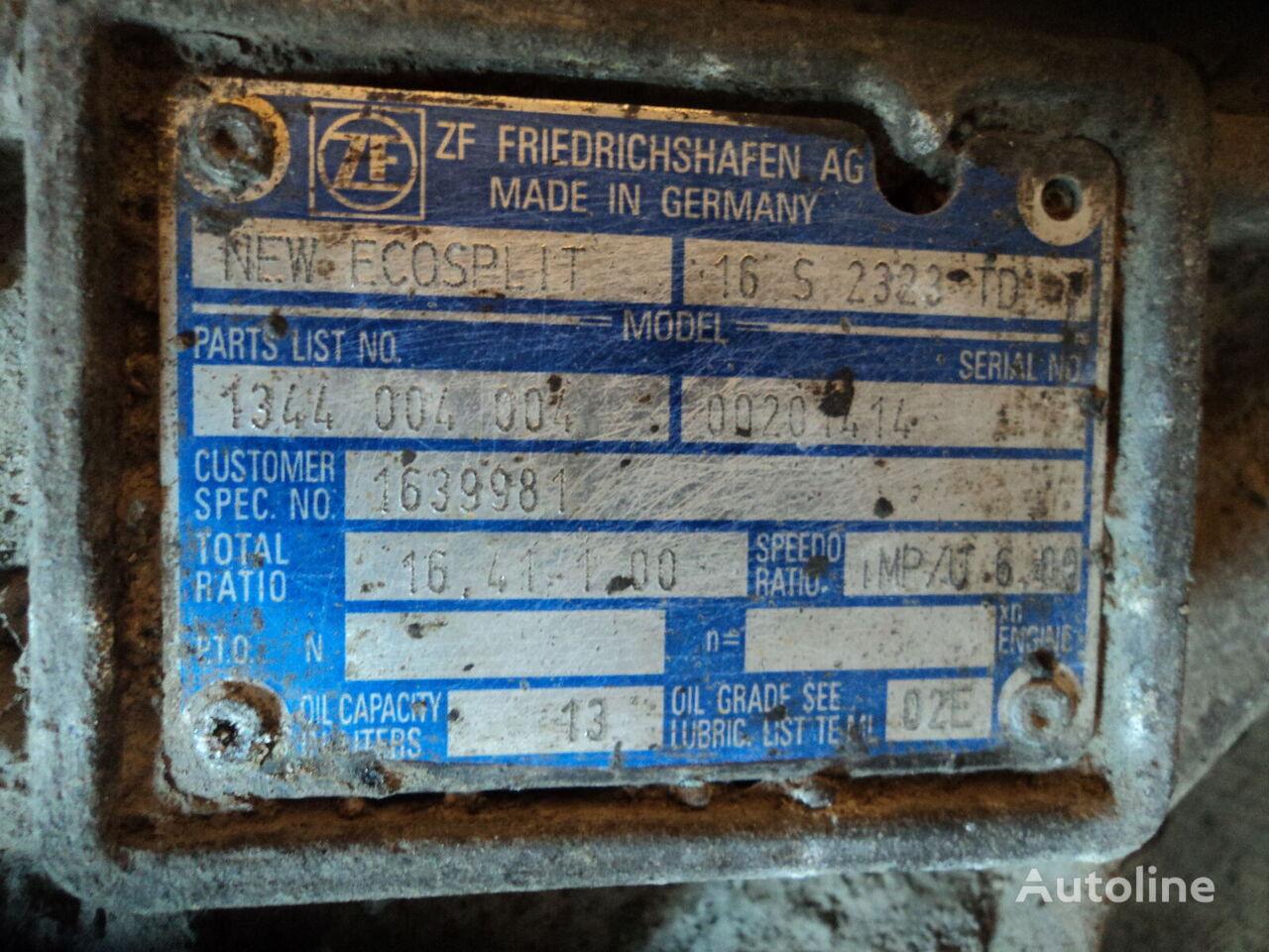 DAF 16S2323 caja de cambios para DAF XF105 tractora