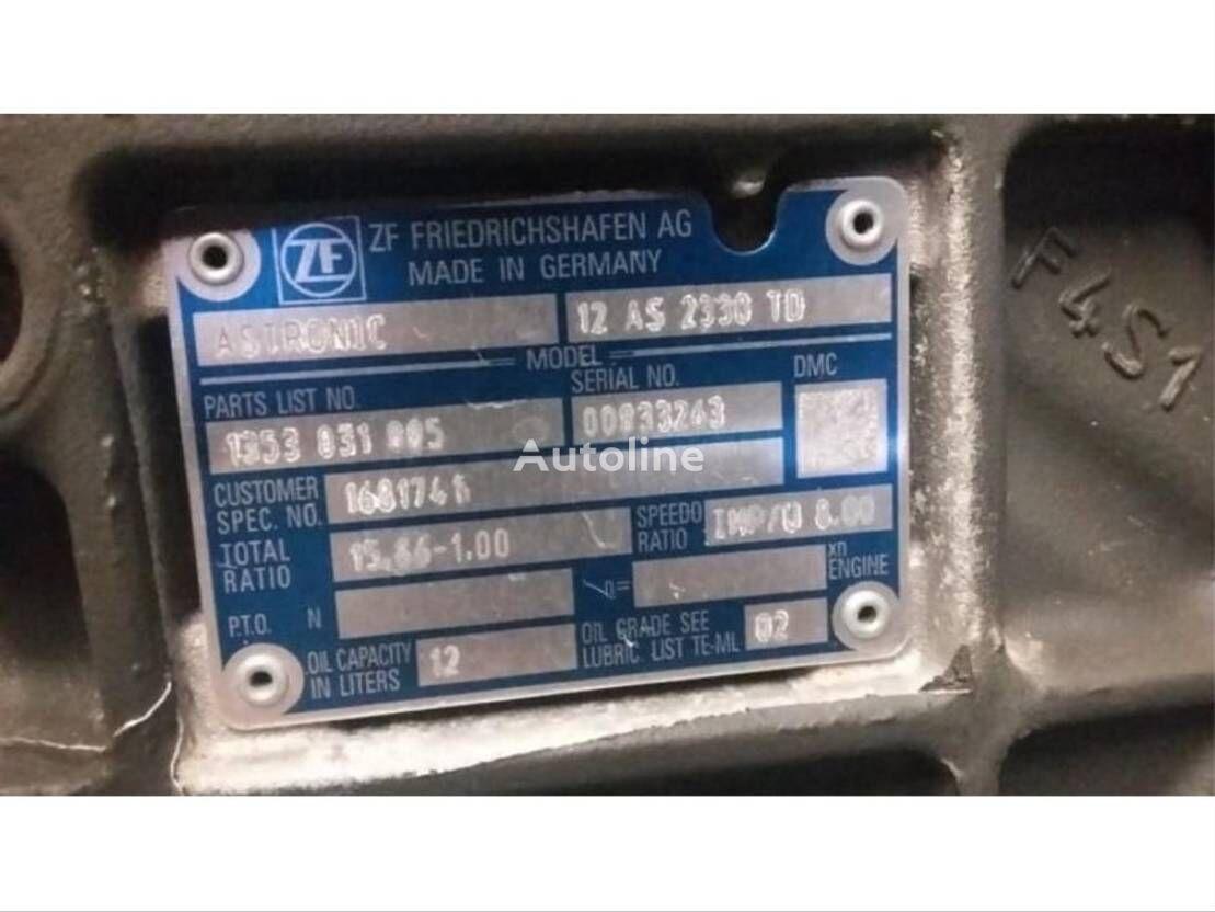 DAF versnelingsbak/gearbox caja de cambios para DAF XF 105 camión