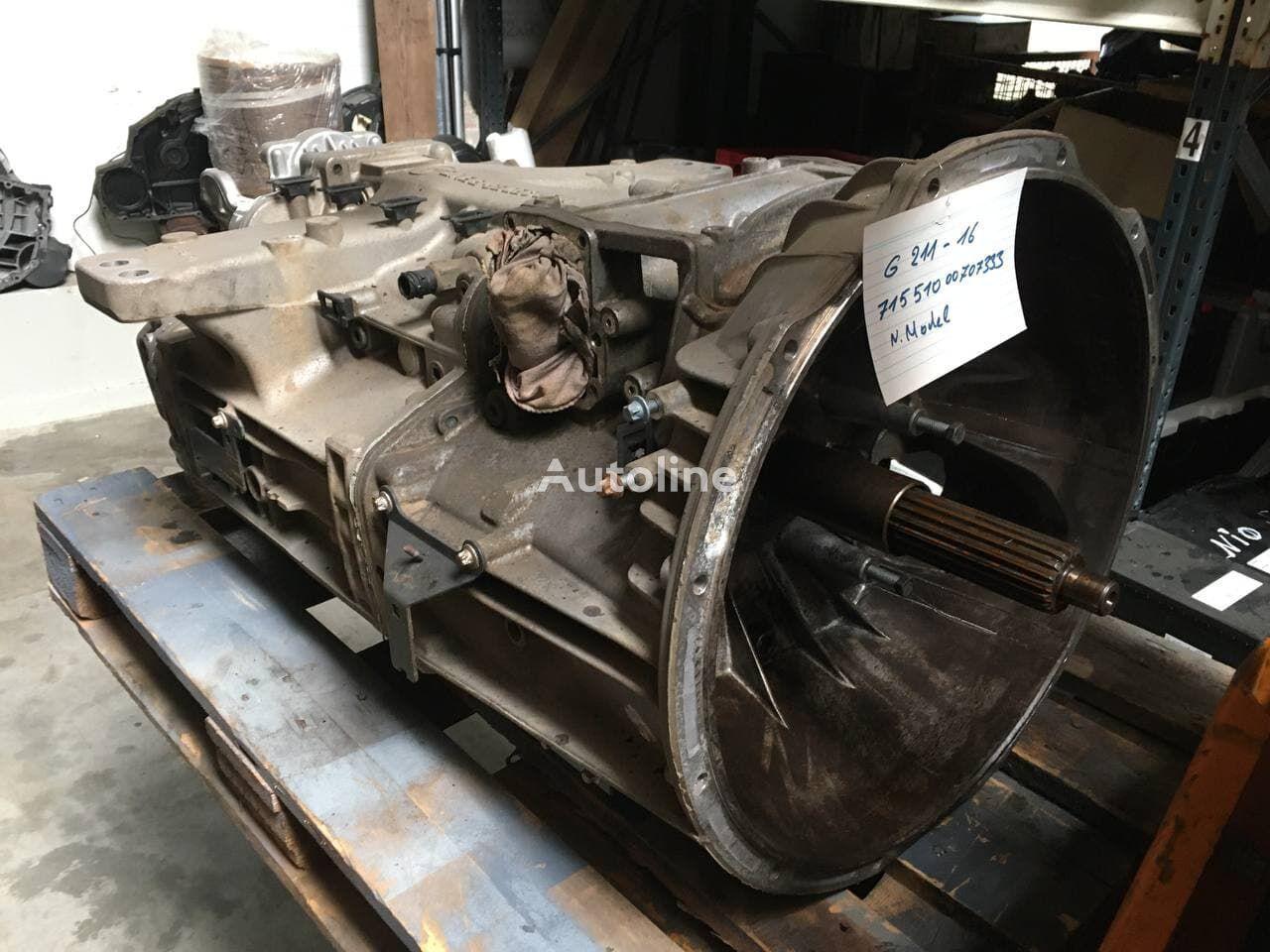 MERCEDES-BENZ G211-16 (71551000707333) caja de cambios para camión