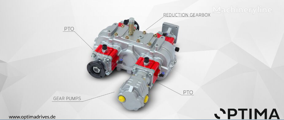 OPTIMA Getriebe caja de cambios para combinado para limpieza de alcantarillado nueva