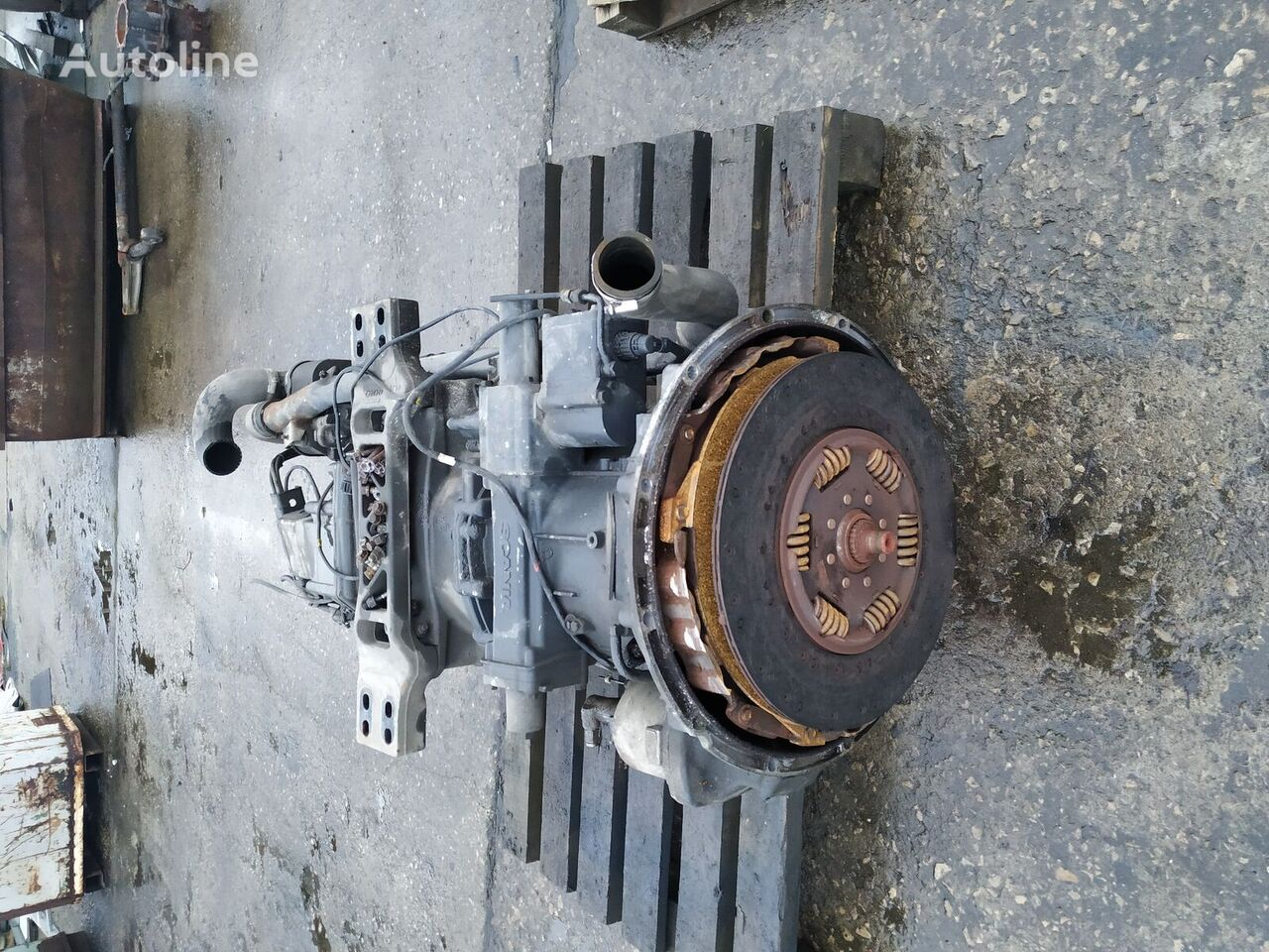 SCANIA GRS905R caja de cambios para SCANIA R420 tractora