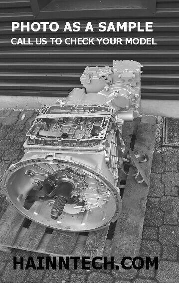 VOLVO AT2412-D GETRIEBE caja de cambios para VOLVO tractora