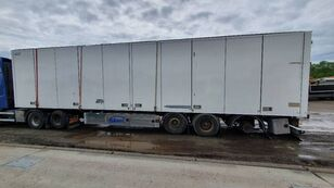 EKERI T3-G + SIDE OPENING SEMI-TRAILER FOR PARTS chasis