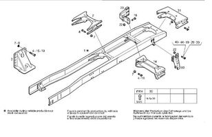 CHASIS Iveco Stralis AS 440S48 (41030855) chasis para IVECO Stralis AS 440S48 camión