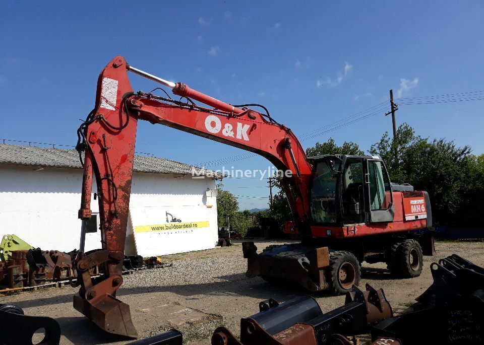 O&K Cilindru antebrat cilindro hidráulico para O&K MH 6 excavadora
