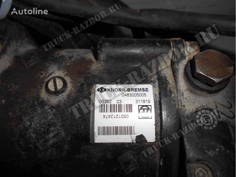 cilindro receptor del embrague MAN PGU (origyu nomer 81307166113) para tractora MAN