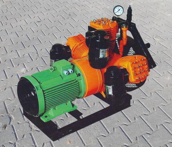 compresor neumático para V3.16 tłokowy z silnikiem elektrycznym cisterna semirremolque