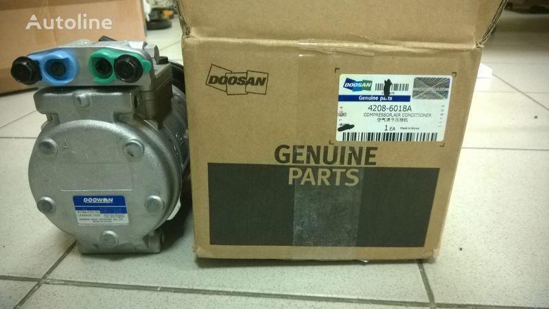 Doosan compressor air conditioner (kompressor) compresor neumático para DOOSAN DL400 cargadora de ruedas nuevo