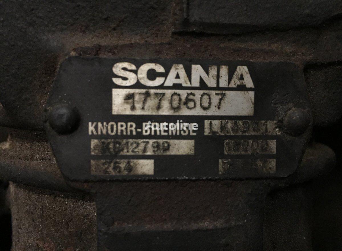 KNORR-BREMSE Air Compressor (LK4941 K012799) compresor neumático para SCANIA P G R T-series (2004-) tractora