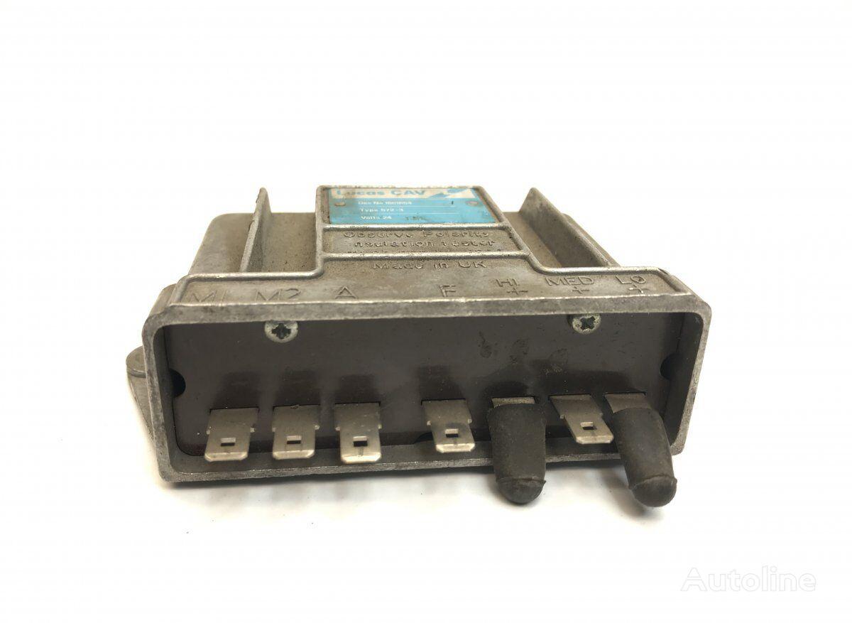 Cabin Heater Fan Rheostat (18616604) cuadro de instrumentos para DAF (MB/B/FHD/EOS/DB bus autobús
