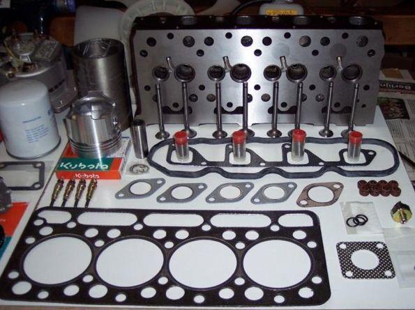KUBOTA culata de cilindros para mini excavadora nuevo