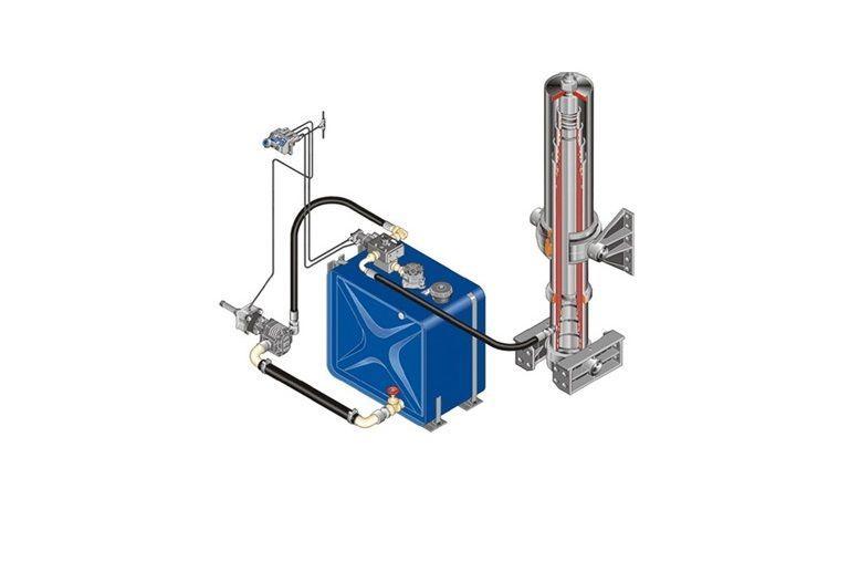 MAN Komplekt gidravliki depósito hidráulico para MAN DAF/IVECO/RENAULT tractora nuevo