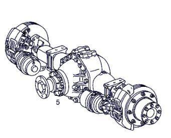 Grupo Diferencial Completo Mercedes-Benz ATEGO 923,923 L (A 000 350 04 00) diferencial para MERCEDES-BENZ ATEGO 923,923 L tractora