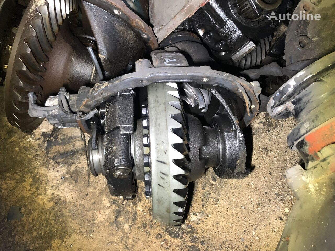 diferencial para MERCEDES-BENZ ATEGO 40:11 tractora