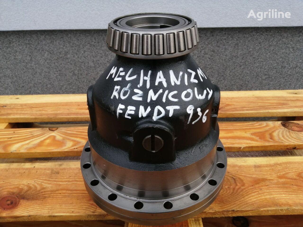 Mechanizm różnicowy Fendt 936 Vario diferencial para tractor