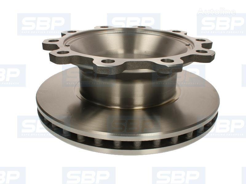 BPW SB4345 430X45MM SBP (02-BP003) disco de freno para BPW SH SHSF 10010-15 ECO 8.0/9.0/10.0 01.96- remolque nuevo