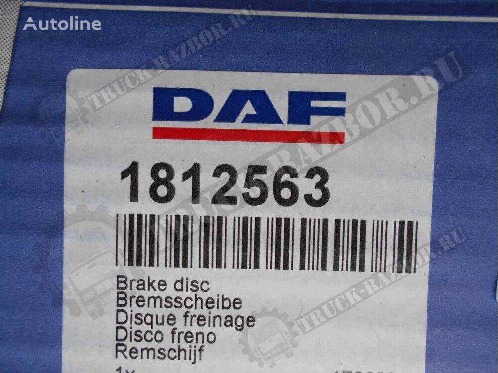 DAF (1812563) disco de freno para DAF tractora