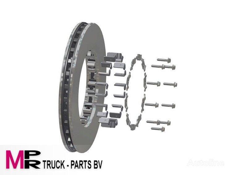 DAF REMSCHIJF DAF 1812563 - 1640561 -1542600TRP - 1812582 disco de freno para camión nuevo
