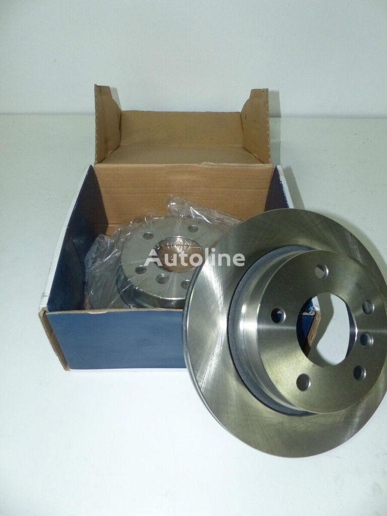 SATZ 2x Bremsscheibe hinten OPTIMAL (BS-4580) disco de freno para BMW E36 E46 3er 3 S automóvil nuevo