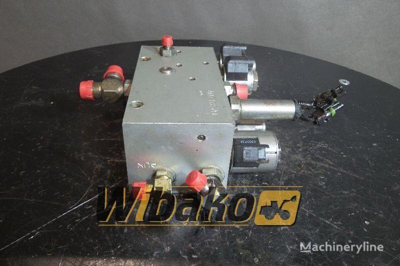 CASE 821 (407165A1) distribuidor hidráulico para CASE 821C cargadora de ruedas