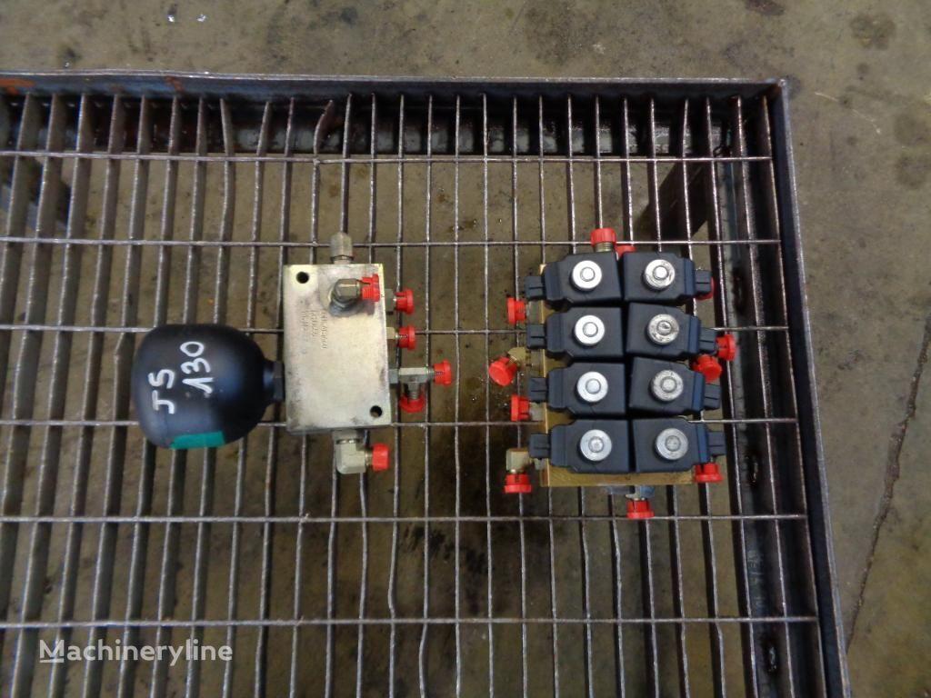Electrovalve distribuidor hidráulico para JCB JS 130 excavadora