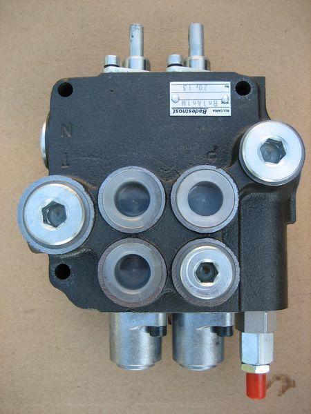 LVOVSKII Bolgariya (2R80-1Vn1An1A1-M) distribuidor hidráulico para LVOVSKII 40814, 40810, 41030 maquinaria de elevación y manutención