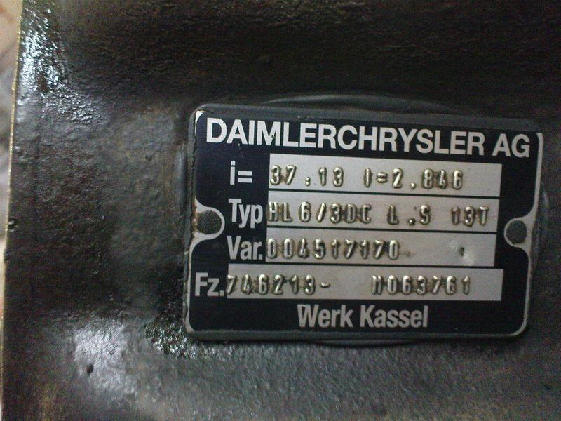 MERCEDES-BENZ HL6 ,40/13,37/13, Mercedes eje motriz para MERCEDES-BENZ AXOR,ACTROS tractora