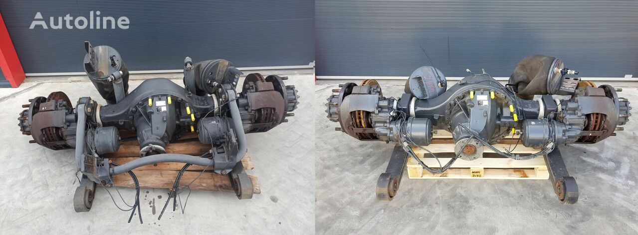 RENAULT DYFER MS17X EVO eje trasero para RENAULT RANGE T GAMA C camión