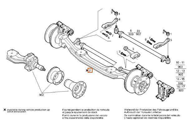 Eje Delantero Completo Iveco Stralis AS 440S54 (7184210) eje para IVECO Stralis AS 440S54 camión