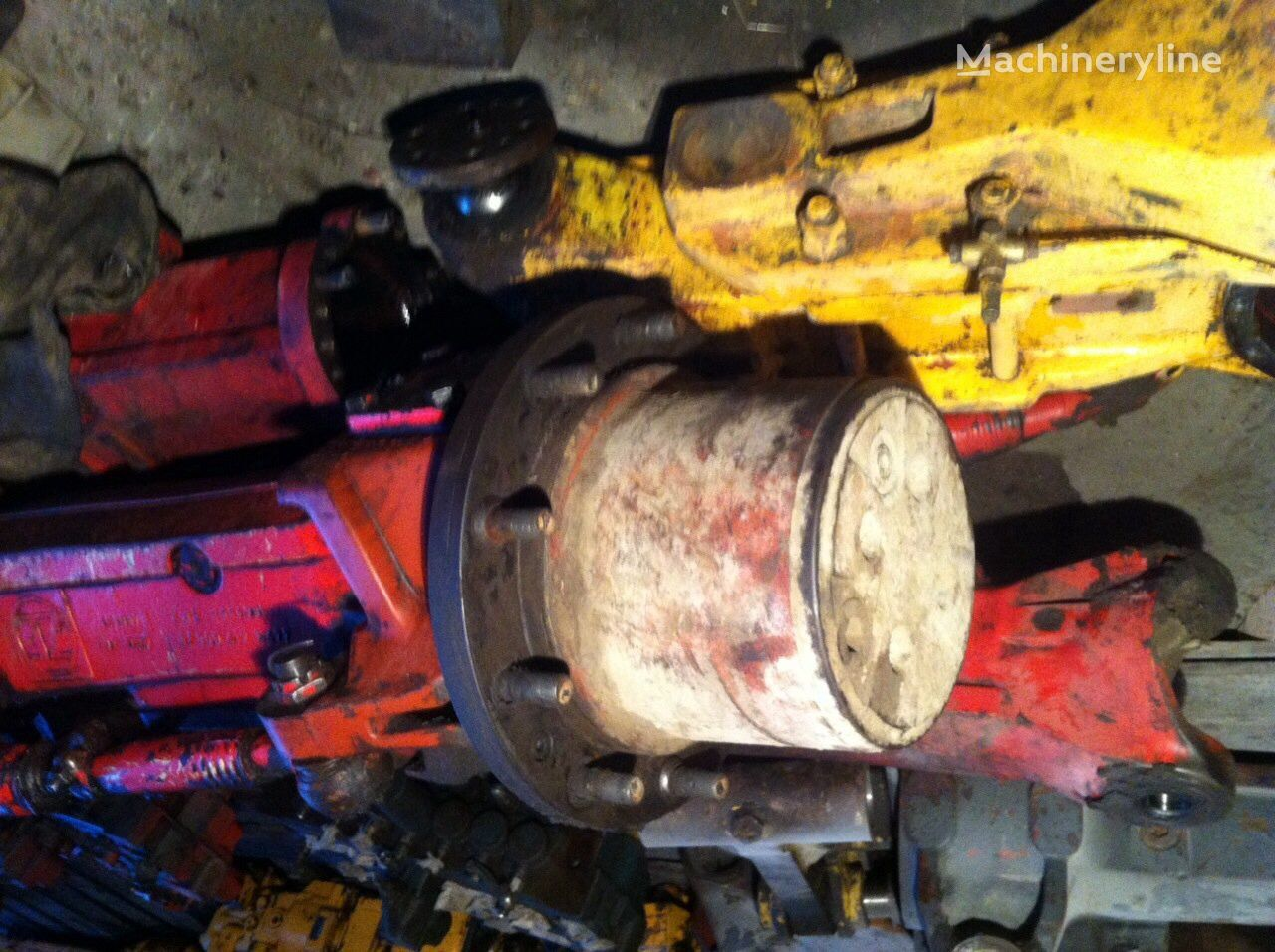 eje LIEBHERR para excavadora LIEBHERR 902