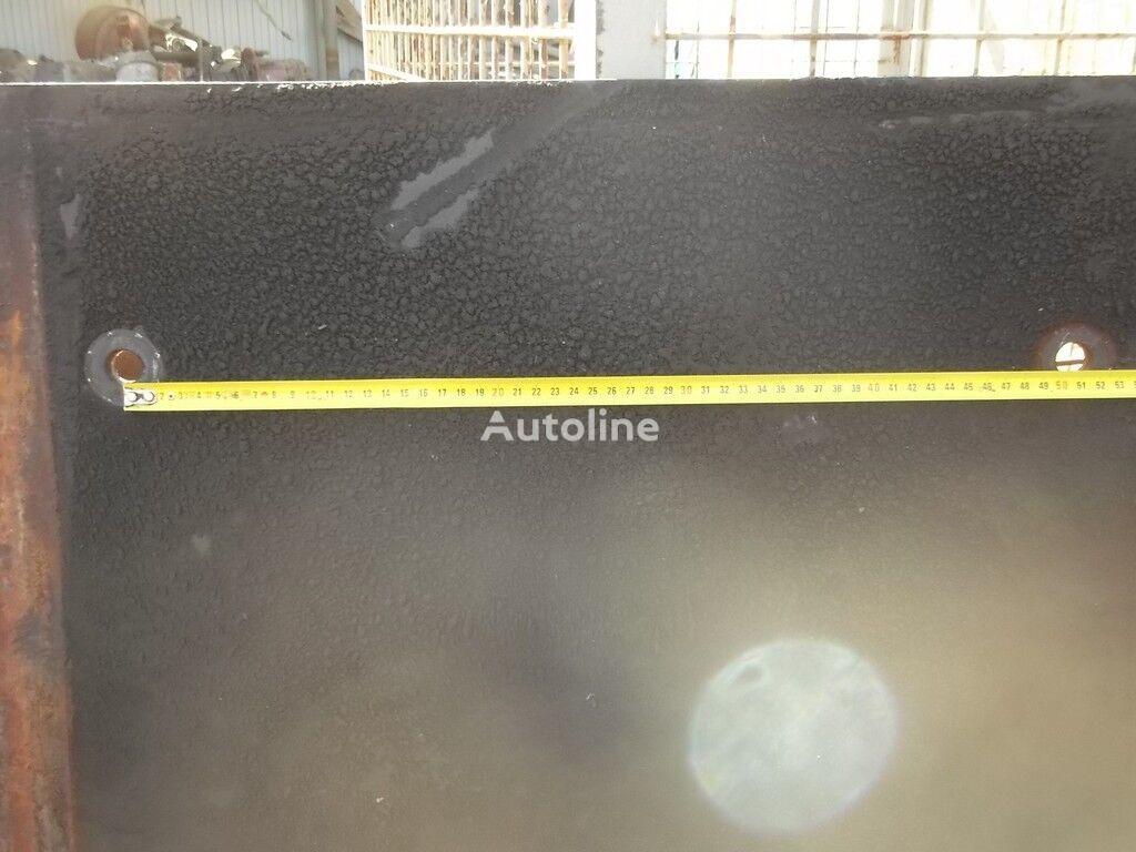 sedla (plita) MAN elementos de sujeción para camión