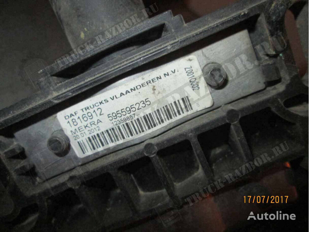 (1816912) elementos de sujeción para DAF tractora