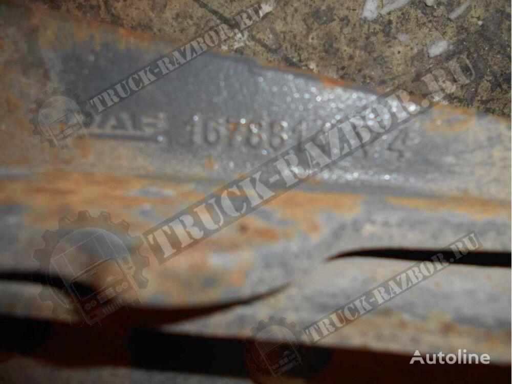 DAF traversa ramy poperechnaya (1435712) elementos de sujeción para DAF tractora