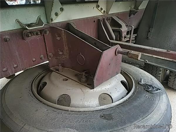 Soporte Rueda Repuesto Soporte Rueda Repuesto MAN M 90  12.232  169/170 KW FG  Bad. 425 elementos de sujeción para MAN M 90 12.232 169/170 KW FG Bad. 4250 PMA11.8 E1 [6,9 Ltr. - 169 kW Diesel] camión