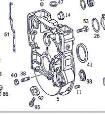 embrague para MERCEDES-BENZ Actros 4-Ejes 6-Cil. Serie/BM 4143 (8X8/4) OM 501 LA [12,0 Ltr. - 315 kW V6 Diesel (OM 501 LA)] camión