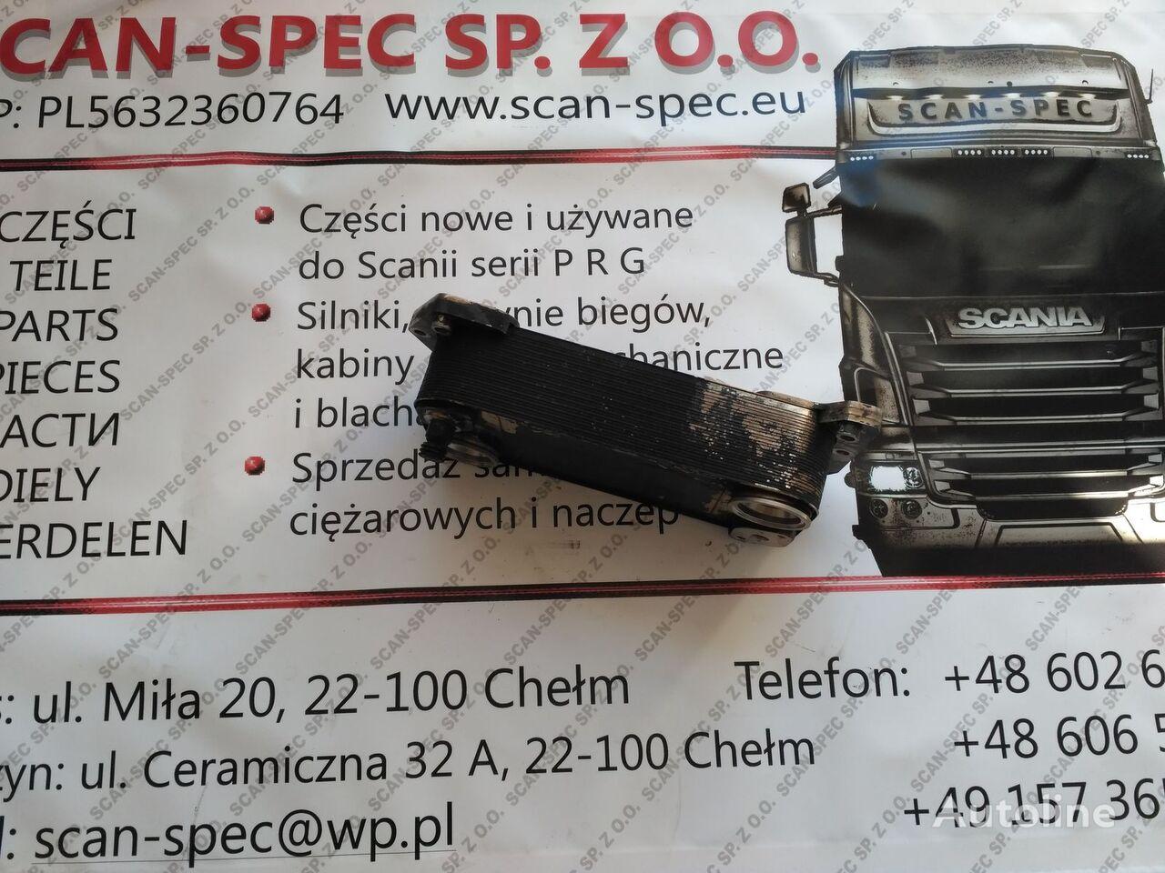 SCANIA (2026896, 2155060) enfriador de aceite para SCANIA P R G T tractora