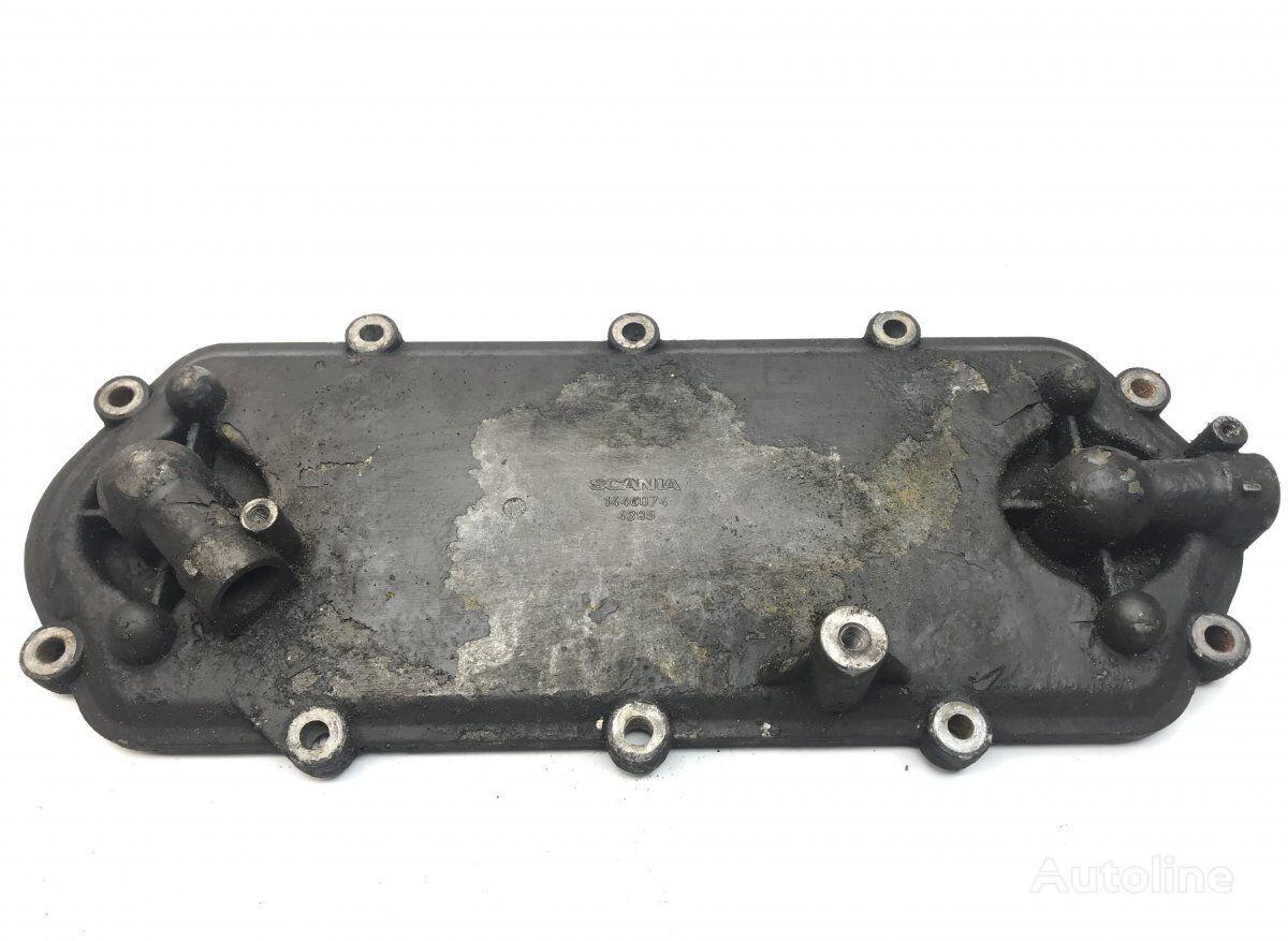 SCANIA Gearbox Oil Cooler Cover (1446074) enfriador de aceite para SCANIA P G R T-series (2004-) tractora