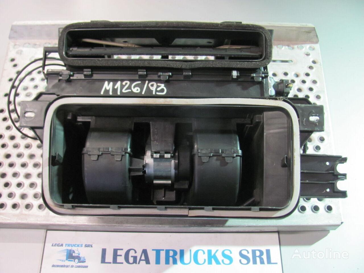 CAPAC CUTIE (81617016203) fascia delantera para MAN TGA 18.440 EURO 4 tractora para piezas