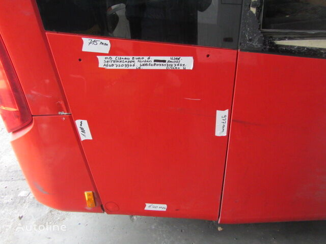MERCEDES-BENZ (A6287509906) fascia delantera para MERCEDES-BENZ Citaro 1, Citaro 2 autobús