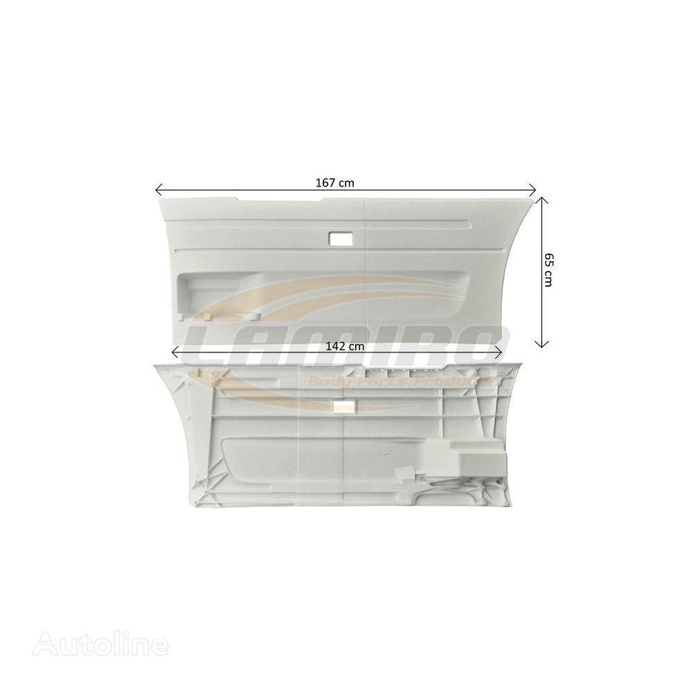 SCANIA SIDE BETWEEN AXES COVER LEFT SHORT (2027318) fascia delantera para SCANIA SERIES 6 (2010-2017) camión nueva