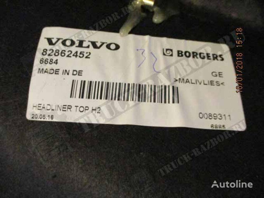 obshivka potolka (82862452) fascia delantera para VOLVO tractora