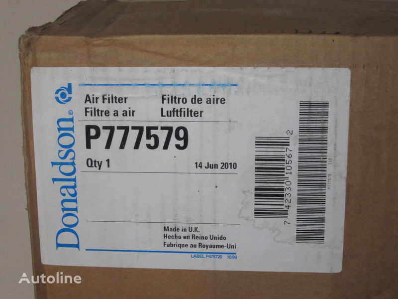 P 777579 Nimechchina filtro de aire para camión nuevo