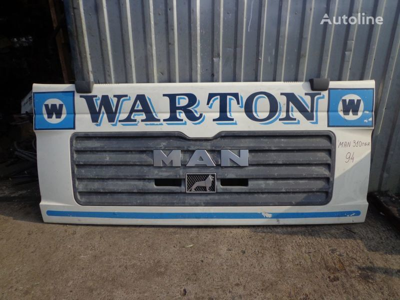 MAN kapot forro para MAN TGA tractora